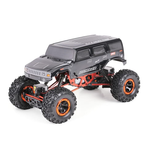 Buy Original HSP 94180T2 1/10 2.4Ghz 3CH 4WD Eletronic Powered Brushed Motor RTR Rock Crawler RC Car Two Servo