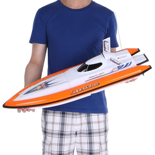 Buy Original SHUANG MA 7007 49MHz 2CH Radio Control Air-cooling Motor Electric High Speed RC Boat