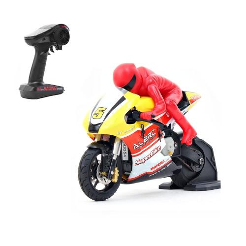 Buy Original ALZRC RIDER R-100 RTR 1/10 Brushed RC Motorcycle 2.4G 2CH Transmitter