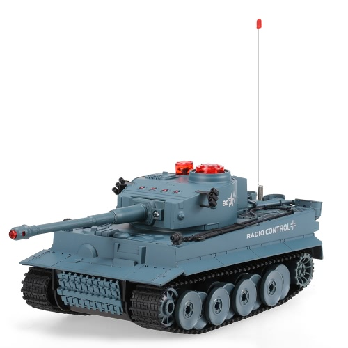 Buy HUAN QI 518 1/24 Scale German Tiger Infrared Fighting RC Battle Tank Sound Lights Toys