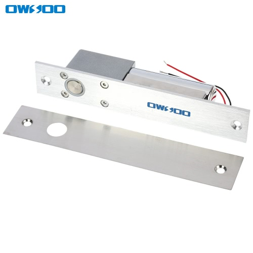Buy OWSOO Electric Drop Bolt Lock Fail-safe Secure NC Mode 12V Door Entry Access Control System