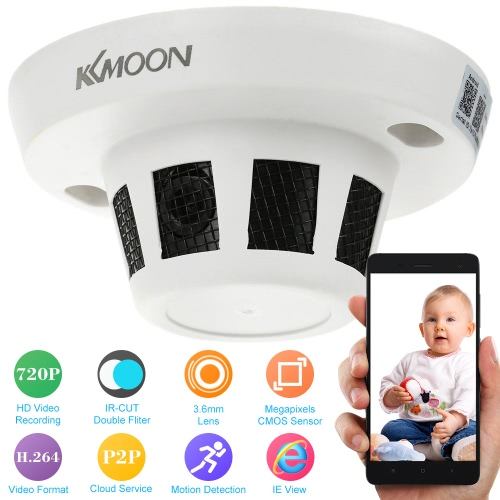 Buy KKmoon H.264 HD 720P IR-CUT IP Camera Motion Detection CCTV Security Home Surveillance