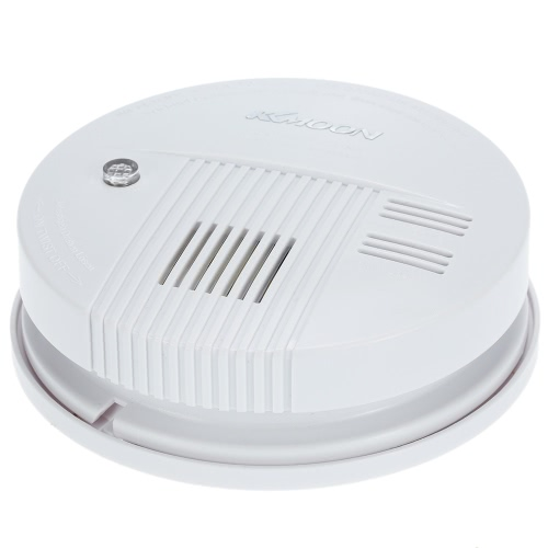 KKmoon  High Sensitive Smoke Fire Detector Sensor Alarm Security System