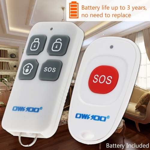 OWSOO  Wireless On-site Home Security Burglar House Alarm System