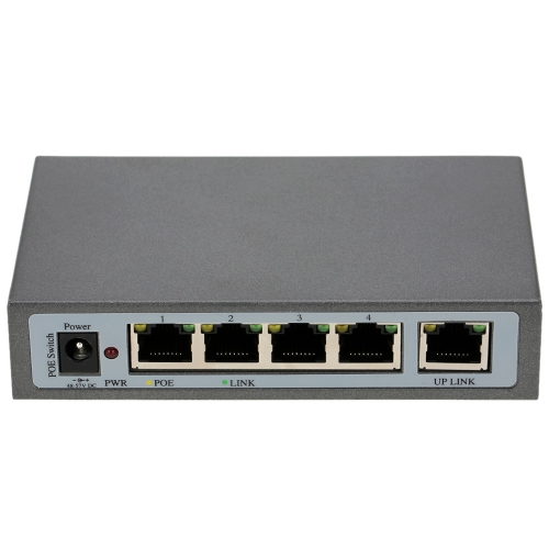 4 Port 100Mbps IEEE802.3at POE Switch/Injector Power over Ethernet for IP Camera VoIP Phone AP devices 104POE-AT от Tomtop.com INT