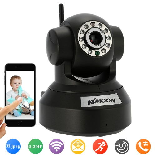 KKmoon 0.3MP Camera P2P Wireless Camera,limited offer $13.99