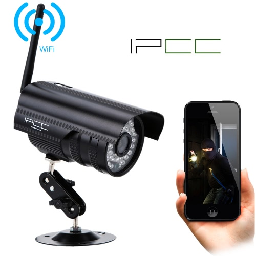 "IPCC IP Camera 1/4"" Sony CMOS 1.0MP Motion Detection IR Night Vision Support Android/iOS Devices Home Security от Tomtop.com INT"