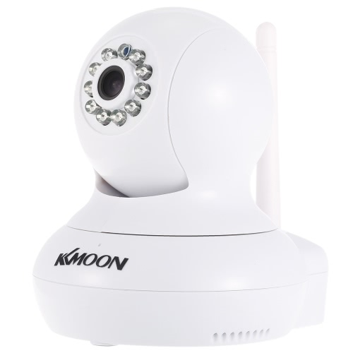 Buy KKmoonu00ae HD 720P Megapixels Wireless WiFi Pan Tilt Network IP Cloud Indoor Camera Baby Monitor support PTZ TF Card Record 2-way Talk P2P Android/iOS APP IR-CUT Filter Infrared Night View Motion Detection Alarm Browser CCTV Surveillance Security System
