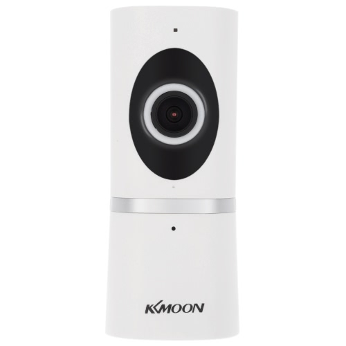 Buy KKmoonu00ae HD 720P 180u00b0 Panoramic Fisheye Megapixels Wireless WiFi Network IP Cloud Indoor Camera Baby Monitor support TF Card Record 2-way Talk P2P Android/iOS APP IR-CUT Filter Infrared Night View Motion Detection Alarm CCTV Surveillance Security System