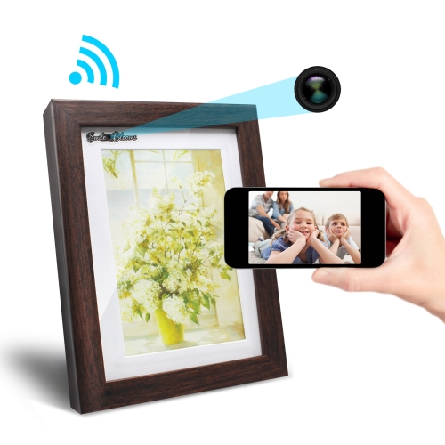 $6 OFF 720P Wifi Photo Frame Camera ,free shipping $48.99