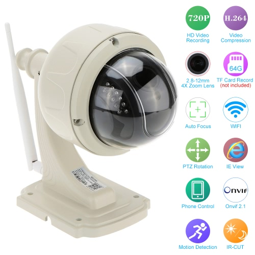 Kkmoon 720P 2.8-12mm Auto-focus Baby Monitor,limited offer $59.99