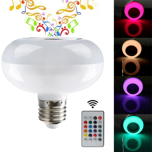 Smart Mini Wireless Bluetooth Music LED Light Bulb,limited offer $9.29