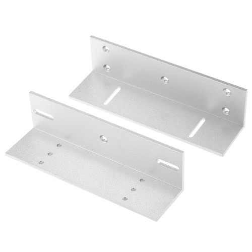 Buy Z Stents Mounting Magnetic Lock Bracket 320KG 700lbs Holding Force Door Aluminium Alloy Holder Stand