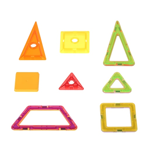 Buy 168 Pieces Magnetic Construction Blocks Building 3D Tiles