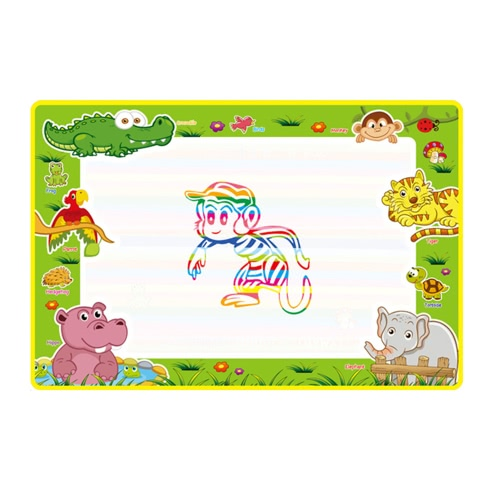 Buy Aqua Doodle Water Drawing Mat Painting Travel Board Magic Pen Kids Art Education