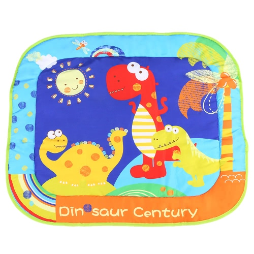 Buy 84 * 71 CM Play Mat Thick Soft Padded Carpet Cushion Waterproof Moisture-proof Blanket Baby Crawling Children Playing Dinosaur Century Pattern