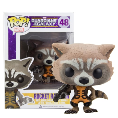 FUNKO Guardians of the Galaxy Rocket Action Figure от Tomtop.com INT