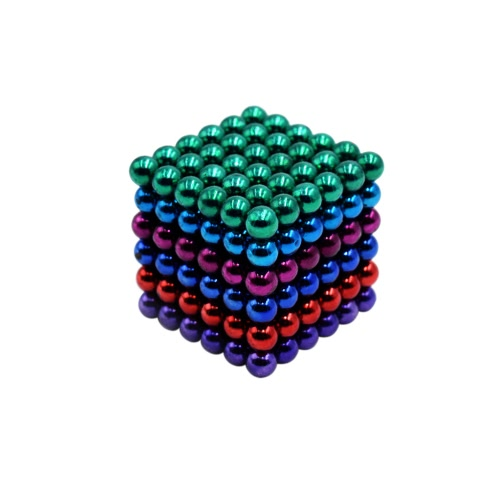 Colormix 5mm Magic Beats Magnetic Balls Puzzle Spheres Educational Toy for DIY Project 216 Pieces