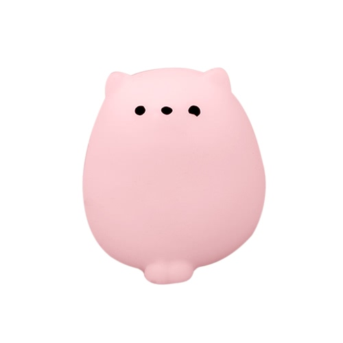 Buy Colorful Adorable Cute Animal Hand Wrist Squeezing Fidget Toys Squishy Mini Stress Relief Squeeze Doll Slow Risng Venting Ball