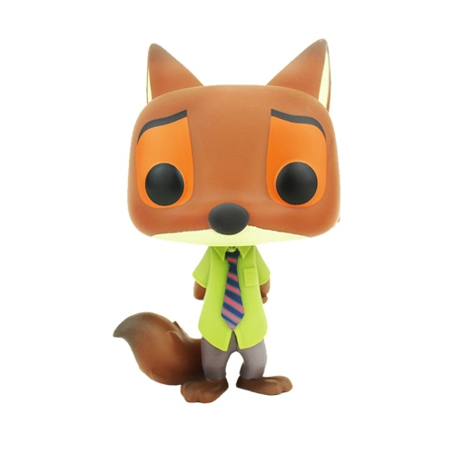 FUNKO POP Movie Zootopia Action Figure Vinyl Model Ornaments - Nick Wilde от Tomtop.com INT