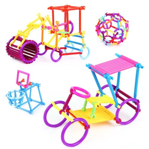 Buy 50Interlocking Building Sticks Engineering Toys Blocks