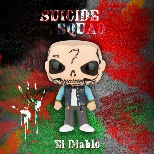 FUNKO POP Movie Suicide Squad Action Figure Vinyl Model Collection - Ei Diablo