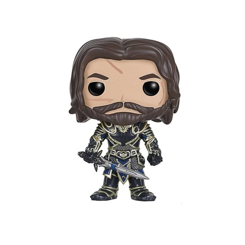 FUNKO POP Movie Warcraft Action Figure Vinyl Model Ornaments - Lothar от Tomtop.com INT