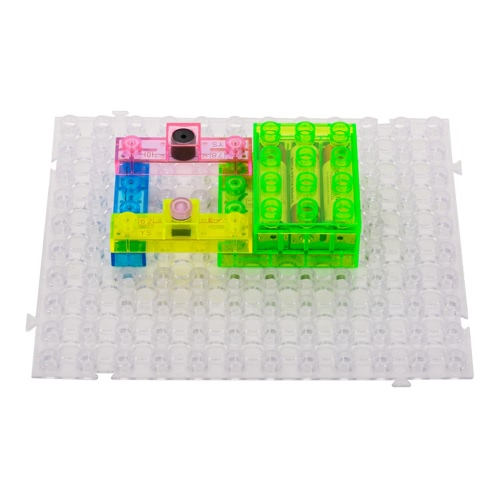 59 Projects Integrated Circuit Building Blocks Electronic Playground DIY Kits Plastic Model Kits Science Kits Educatioal Toy