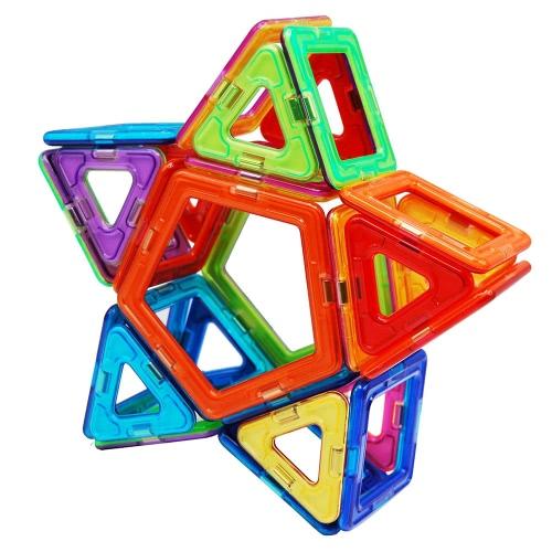 Buy 40 Pieces Magnetic Construction Blocks Building 3D Tiles