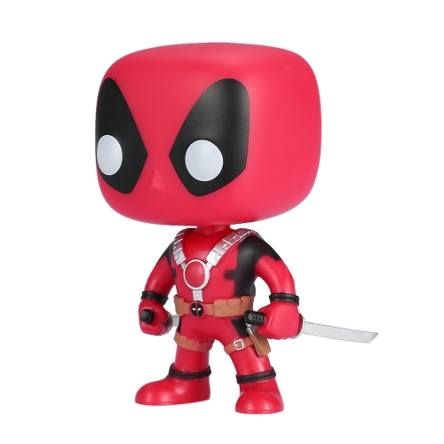FUNKO POP Marvel Deadpool Action Figure Vinyl Model Collection - Two Sword