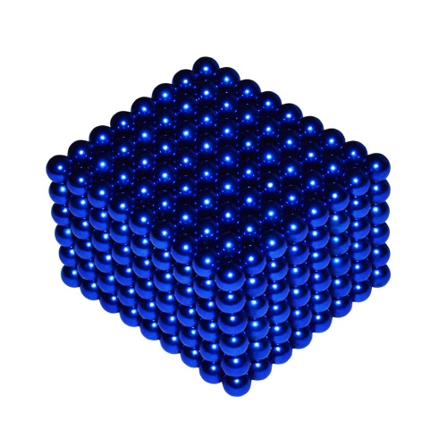 5 mm DIY Magic Beats Magnetic Balls Sphere Puzzle Educational Toy 432 Pieces Blue