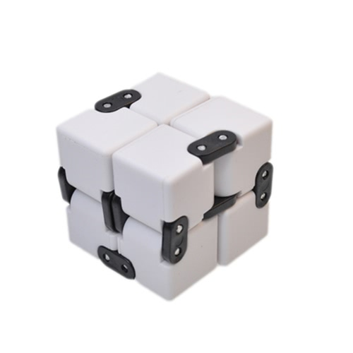 Buy Mini ABS Foldable Infinity Fidget Cube Rubik's Office Decompression Stress Reducer Perfect Finger Anti Anxiety Funny EDC Spinner Toys Adult Children