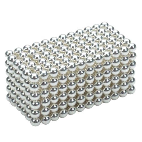 3 mm DIY Magnetic Beats Magic Balls Puzzle Set 432 Pieces Grey