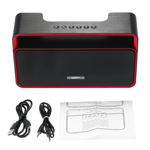 Buy MUSKY DY-25 Wireless Stereo Bluetooth Speaker U Disk TF Card 3.5mm FM Radio Subwoofer Hands-free Mic iPhone 6s 6 Samsung LG Notebook Tablet Bluetooth-enabled Devices
