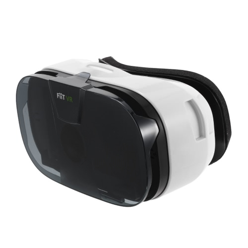 FiiT VR Virtual Reality Glasses 3D VR Box Glasses Immersive Private 3D Cinema for 4.0-6.5 Inches Android iOS Smart Phones