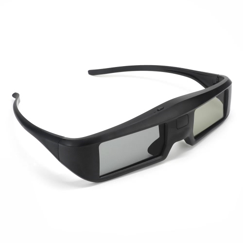 G06-BT 3D Active Shutter Glasses Virtual Reality Glasses Bluetooth Signal for 3D HDTV