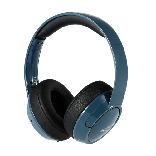 MARROW 306B Wireless Bluetooth Headset Bluetooth 4.0 Powerful Bass Stereo Headphone Hands-free with Mic Dark Blue for iPhone 6S 6 Samsung S6 Note 5 Other Bluetooth-enabled Devices