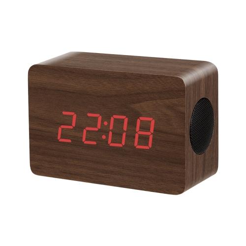 Wooden Wireless Bluetooth Speaker Brown,free shipping $21.49(Code:TTSTW)