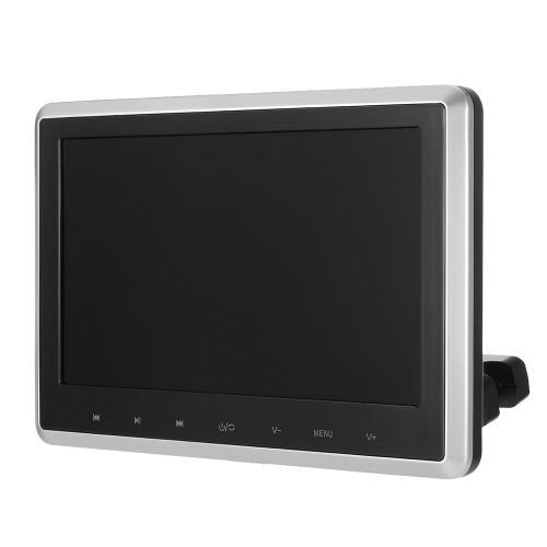 Buy 10.1 Inch TFT Digital LCD Screen Car Headrest DVD Player Touch Button Monitor 720p HD USB SD Port Remote Control