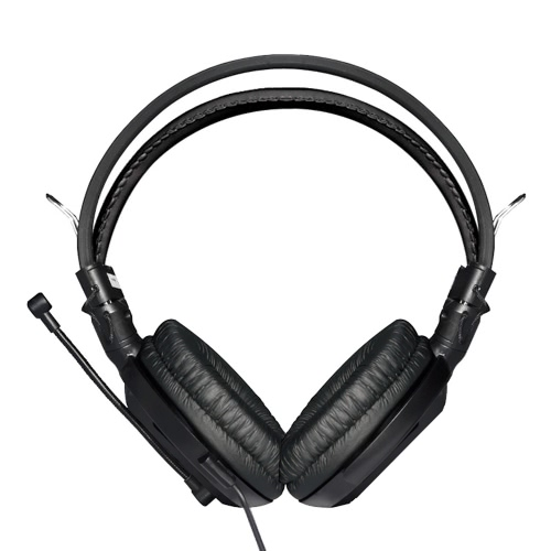E-3LUE EHH007 3.5mm Stereo Volume Control Over-ear Headsets Headband Professional Gaming Headphones Noise Isolating Earphones Microphone