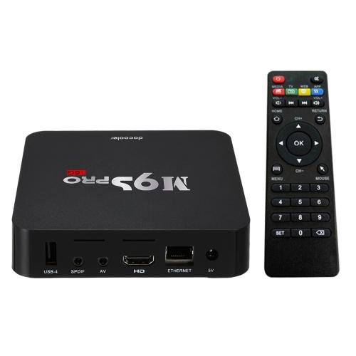 Buy Smart Amlogic S905X TV Box KODI 16.1 Android 6.0 Quad Core 4K WiFi DLNA HD -1G+8G US Plug