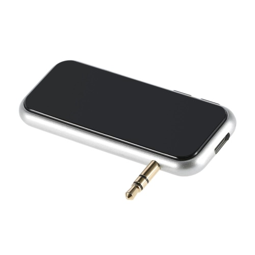 Buy FM Transmitter Wireless Bluetooth Modulator MP3 Audio Music Player 3.5mm Aux-in Car Kit Hands-free Call Silver