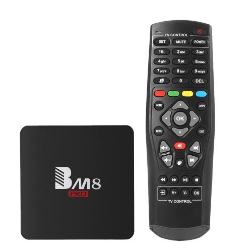 Buy BM8 PRO Amlogic S912 TV Box Octa-core KODI 17.0 4K 2.4G & 5G WiFi 1000M LAN Bluetooth 4.0 HD - 2G+32G US Plug