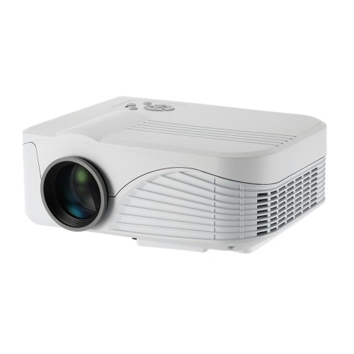 Buy X9 Projector 1000 Lumens 1080P Full HD LED Contrast Ratio: : 1 projection Machine VGA AV Port Remote Controller EU Plug