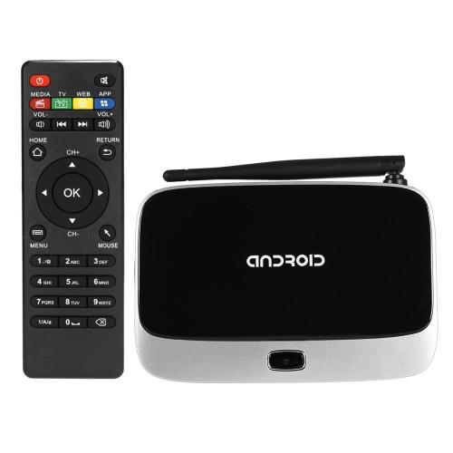 Buy CS918-4K Smart Android TV Box 5.1 RK3368 Octa-Core 64 Bits 2G / 8G XBMC DLNA UHD 4K 3D H.265 WiFi 1000M LAN Bluetooth 4.0 HD Media Player US Plug
