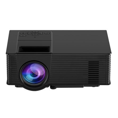 Buy VS314 LED Projector 1500 Lumens 1080P 1200 : 1 USB HD VGA AV - EU Plug Black