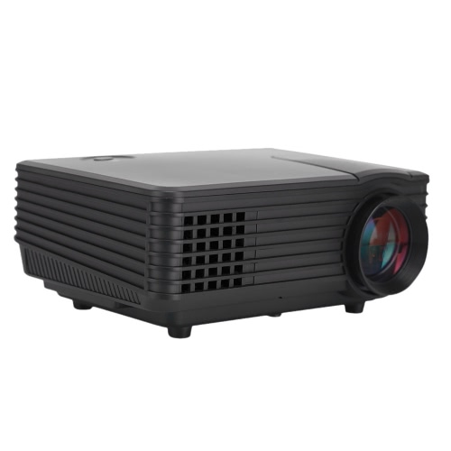 """RD-805 Full Color 100"""" LED Projector 800 Lumens 1080P 1000 : 1 Contrast Ratio Projection Machine with HD VGA AV USB Remote Controller for NoteBook Laptop Tablet PC Smartphone EU Plug от Tomtop.com INT"""
