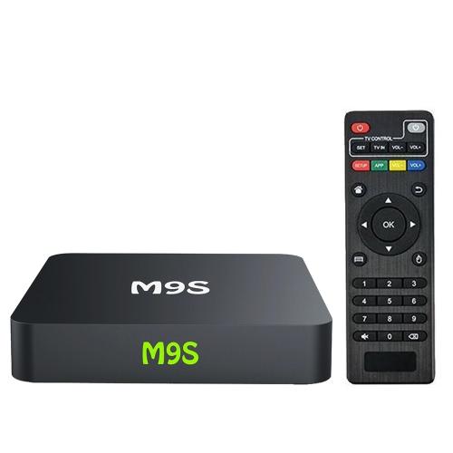 Buy M9S X1 Smart Android TV Box 6.0 S905X Quad-core UHD 4K 1G / 8G Mini PC 1000M LAN WiFi H.265 Media Player EU Plug