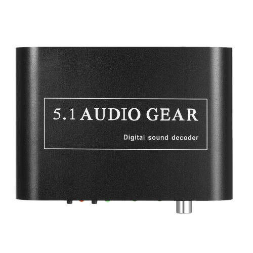 5.1 Audio Decoder Gear DTS/AC-3 Digital Sound to 5.1/2.1 Analog Output Converter for STB DVD Player HD Player Xbox 360 US Plug от Tomtop.com INT