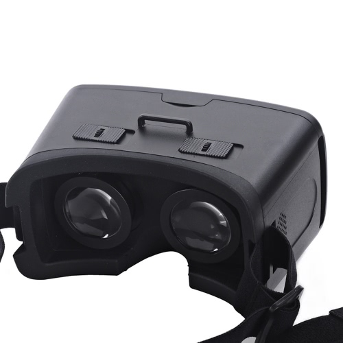 "CST-06 Google Cardboard Version 3D VR Glasses Virtual Reality DIY 3D VR Video Movie Game Glasses Head Mount with Headband for iPhone Samsung / All 4.0 ~ 6.0"" Smart Phones"